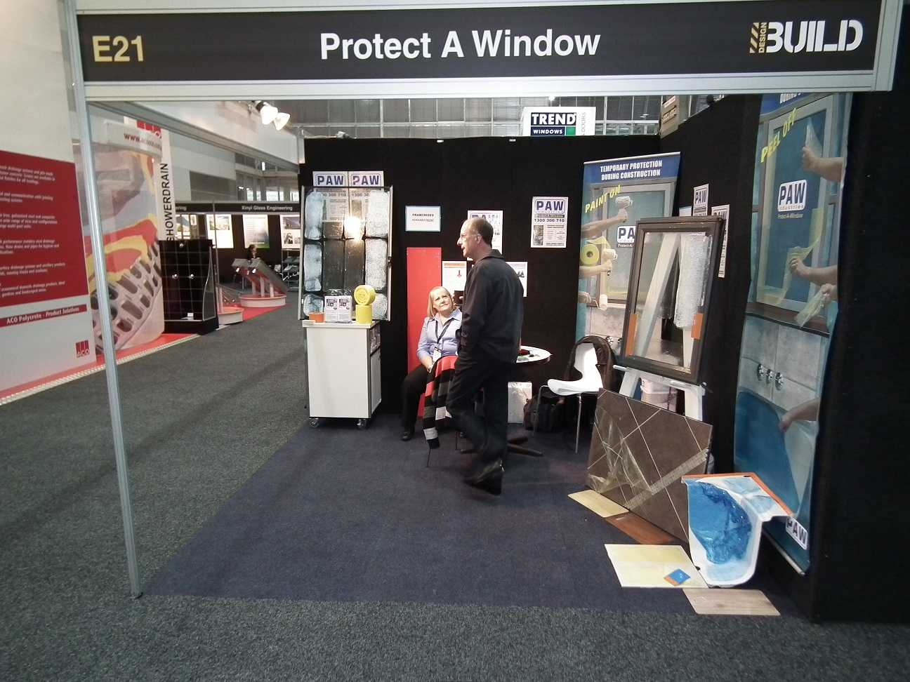 Protect A Window Expo Stand