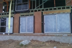 Glass protection during construction