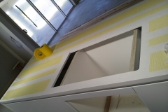 Benchtop scratch protection during construction